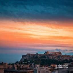 Athens Sunset Lycabettus