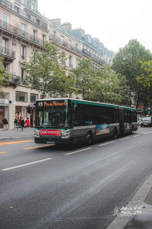 Bus Paris France