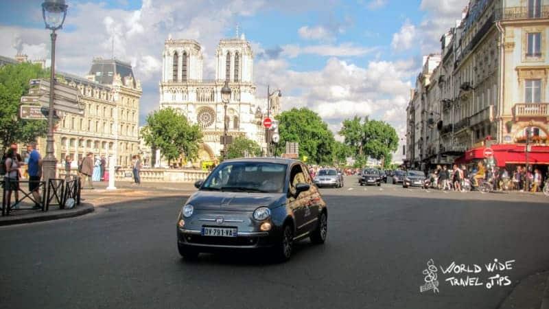 Car rental Paris