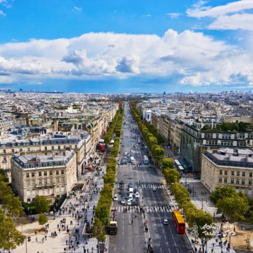 Champs elysees places to visit in Paris