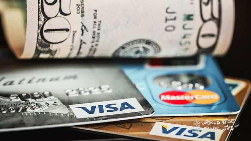 Credit Card Visa currency in the Netherlands