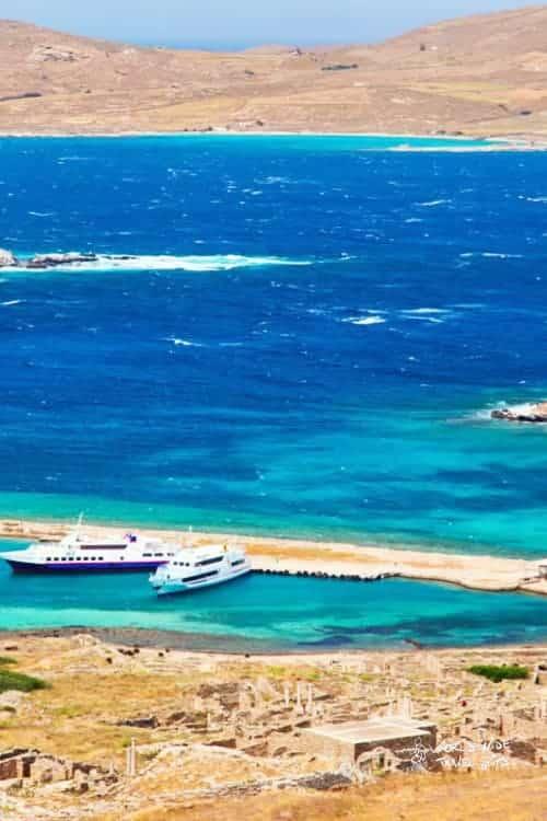 Island Greece Cyclades Archipelago Water