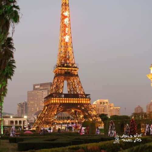 Eiffel Tower Copy China Shenzen
