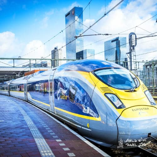 Eurostar Train Europe London to Paris by train