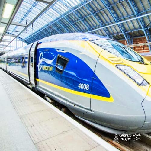 Eurostar London to Paris