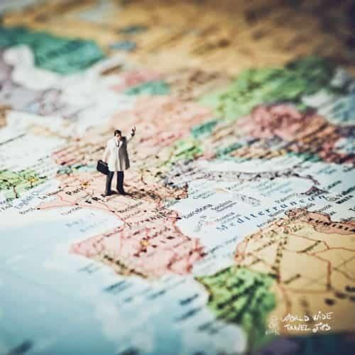 visit France Europe map