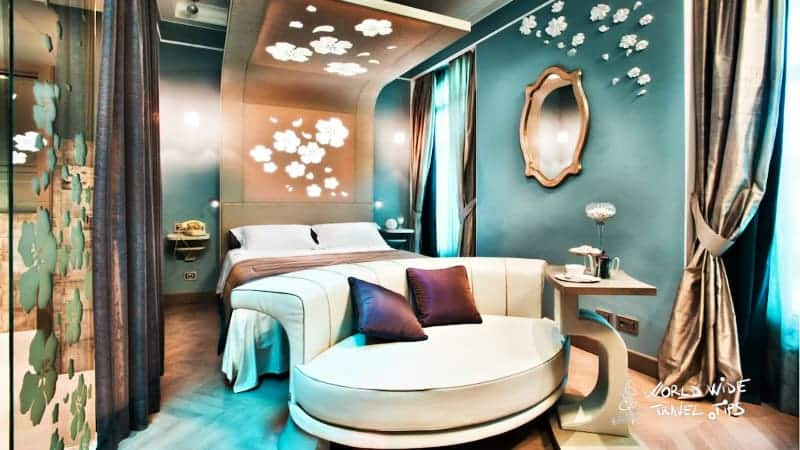 Hotel Chateau Monfort Milano room