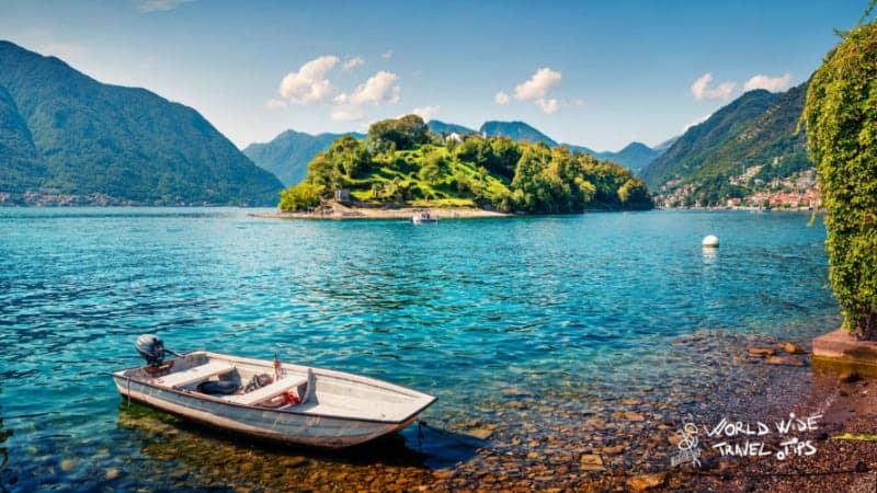 Isola Comacina Lake Como Island