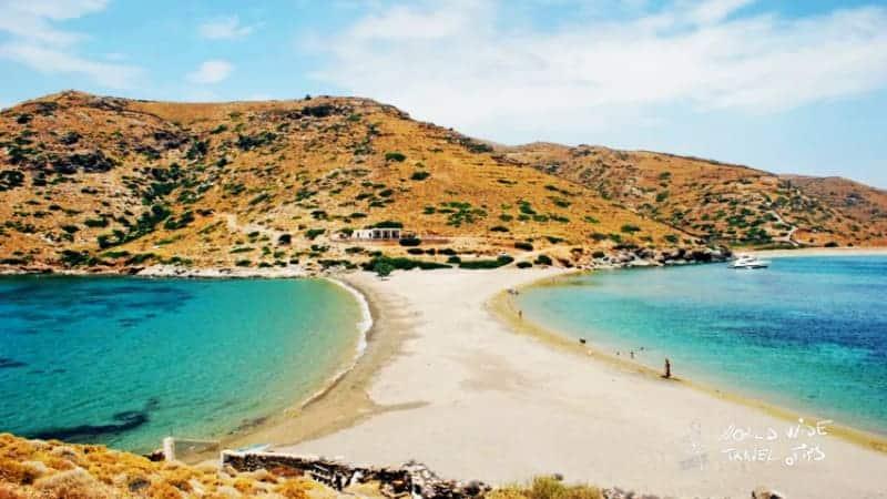 Kythnos Greece Cyclades Archipelago