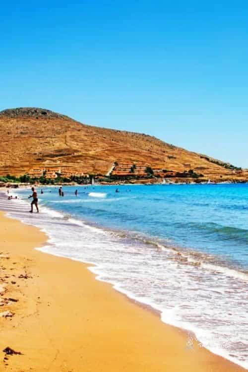 Lemnos Plati beach Greece