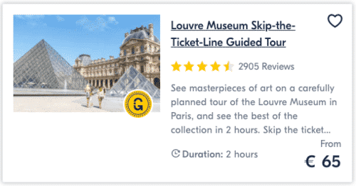 Louvre Museum Skip-the-Ticket-Line Guided Tour
