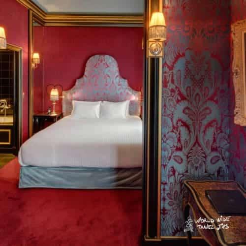Maison Souquet Hotel room Paris