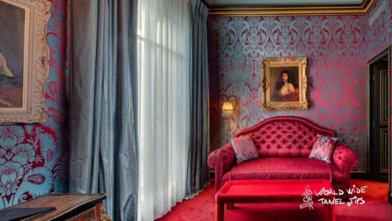 Maison Souquet Paris Hotel interior