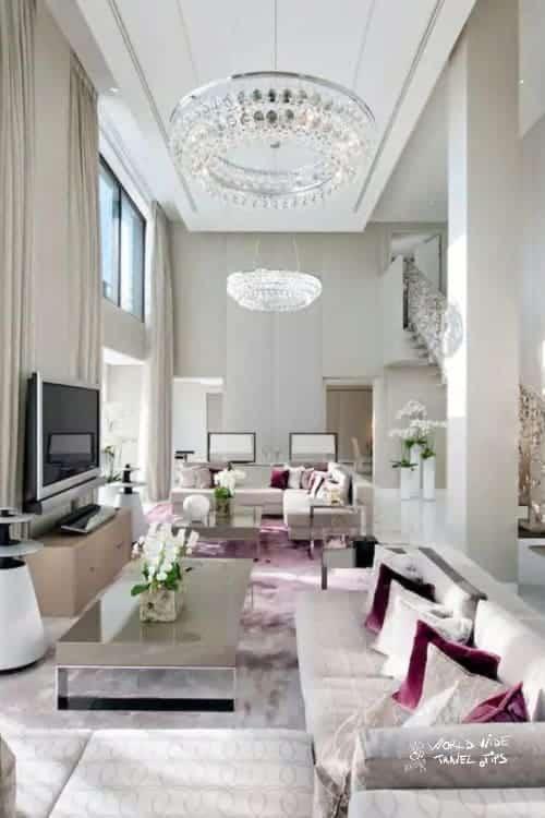Mandarin Oriental Paris room interior