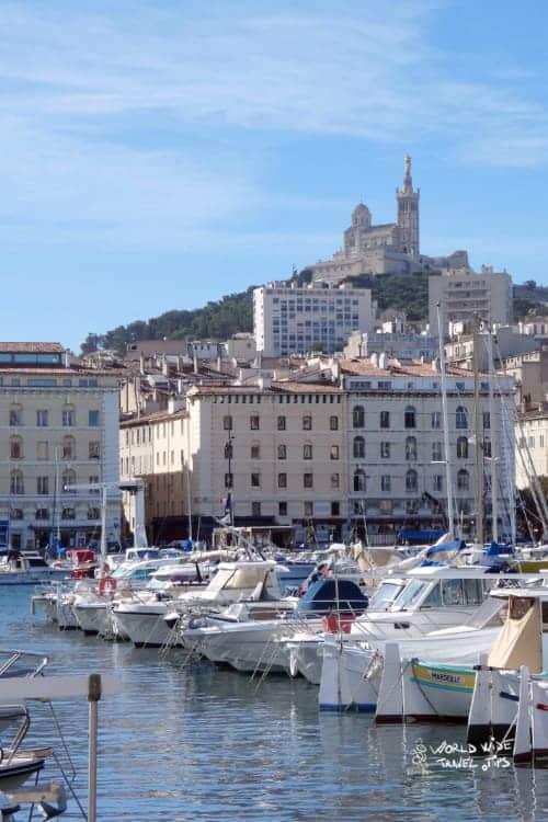 Marseille old port France