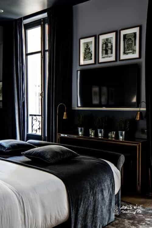 Monsieur George Hotel and Spa Room