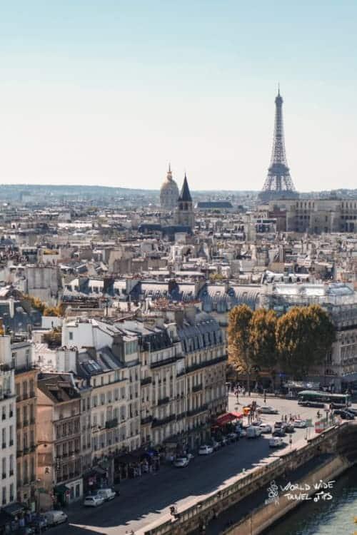 Paris France autumn