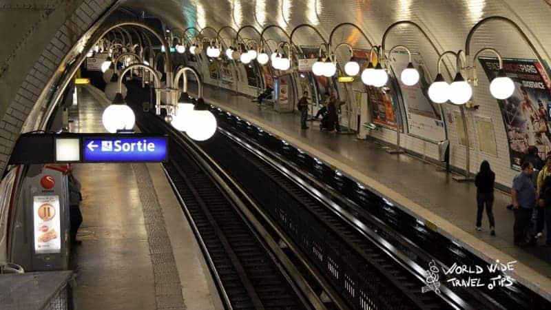 Paris Train Subway