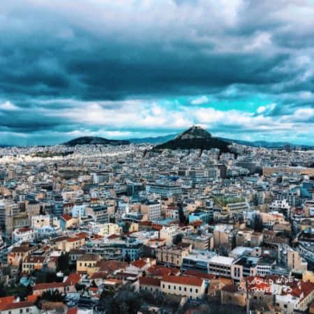 Plaka district Athens