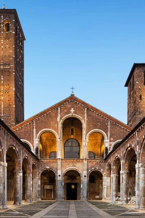 Sant ambrogio Milan