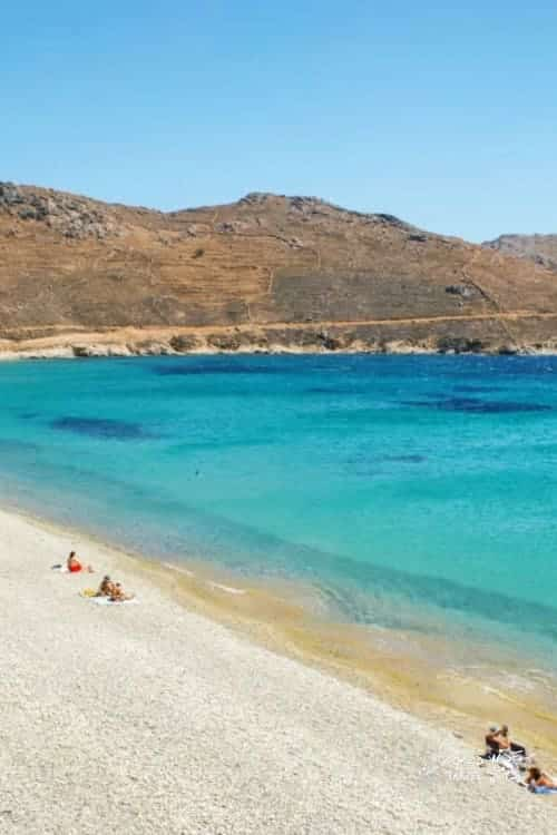 Serifos Beaches in Greece in June