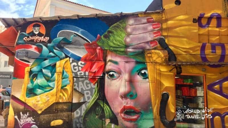 Street art tour Athens Greece