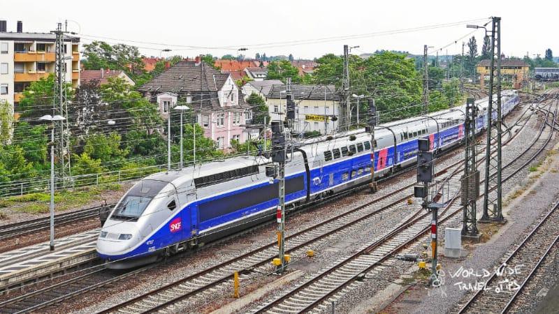 TGV Train Paris France