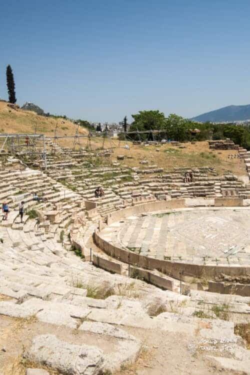 Theatre of Dionysus Athens Greece