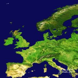 Travel Tips for Europe Map