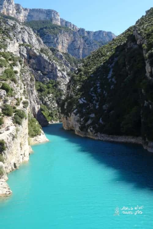 Verdon Gorge Turquoise water France