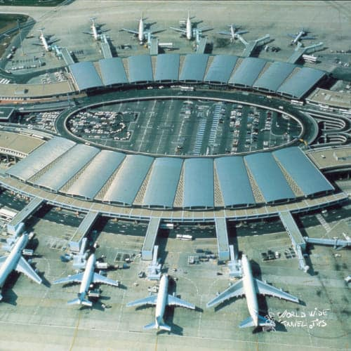 charle de gaulle airport Paris France