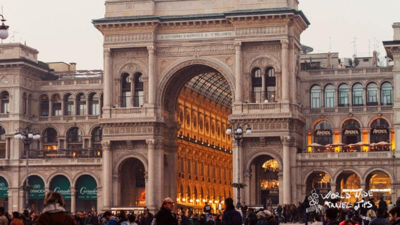 grand galleria vittorio emanuele Architecture Milan