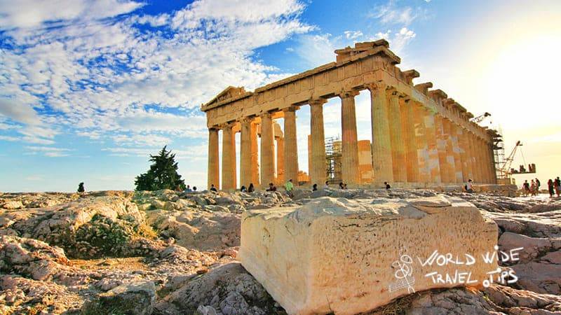 Athens Ruins Greece