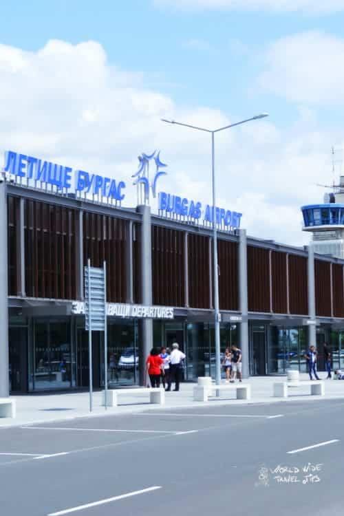 Bulgaria Airport Burgas Airport