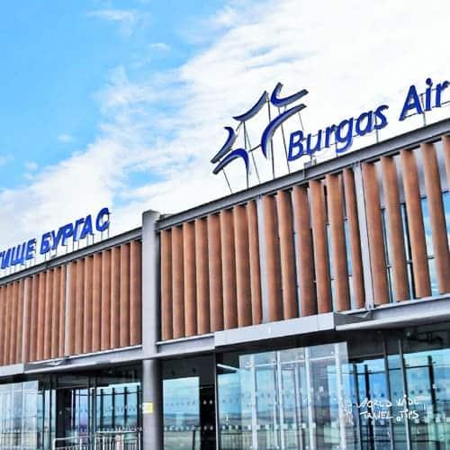 Sunny Beach Bulgaria airport Burgas