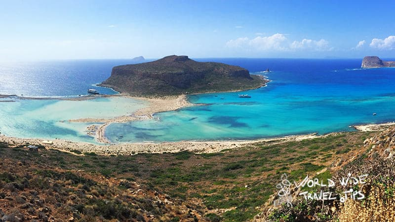 Crete Greece the hottest greek island in October