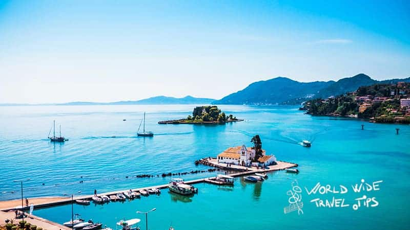 best Greek islands to visit in October Korfu Greece
