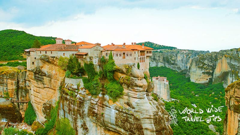 Meteora Greece Landscape