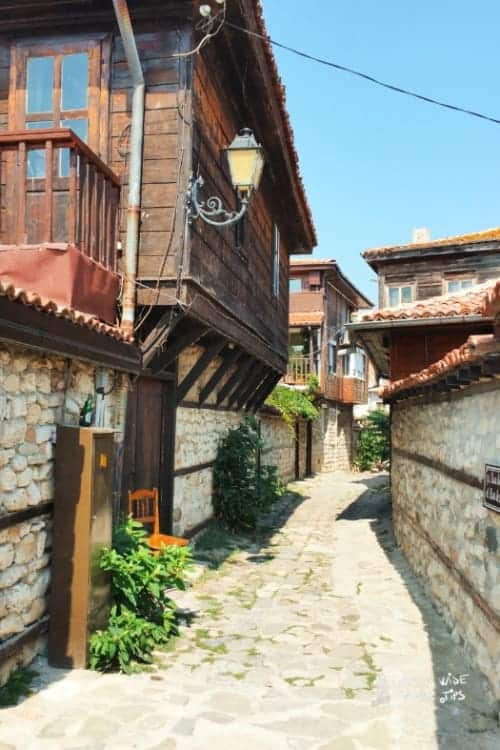 Visit Nessebar Bulgaria Town street