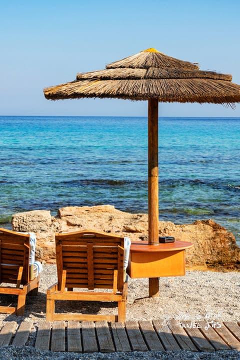 Rhodes Rodos Greece Greek Beach