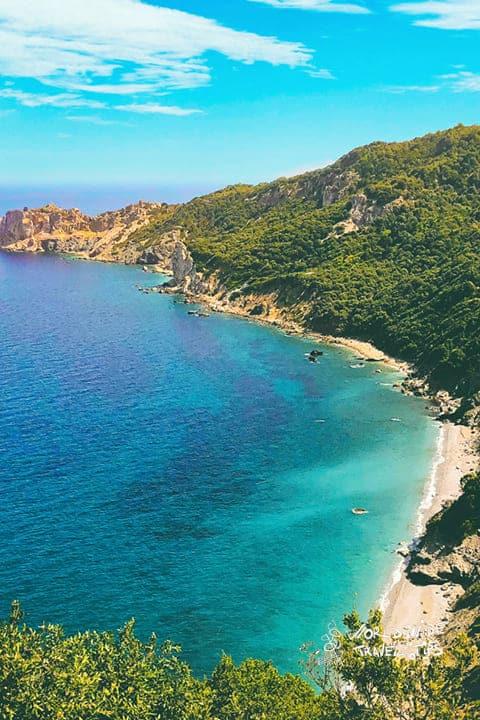 Skiathos Beach Greece Blue Water