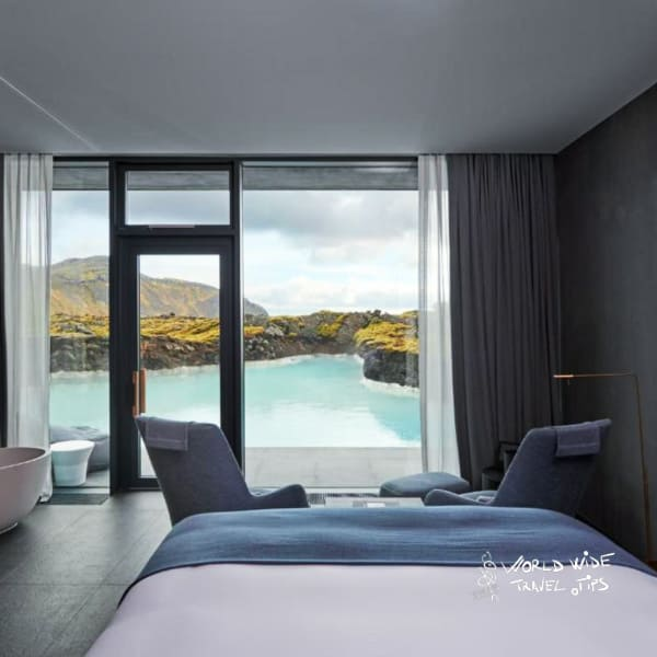 The Retreat at Blue Lagoon Iceland Room lagoon view junior suite