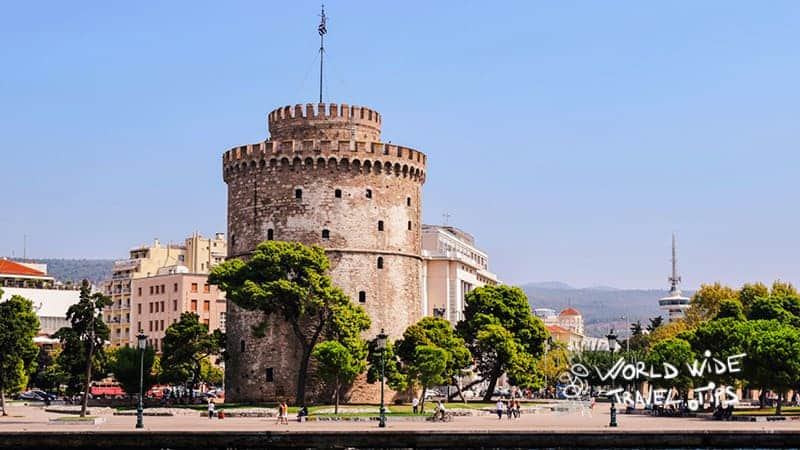 Thessaloniki Greece Tower