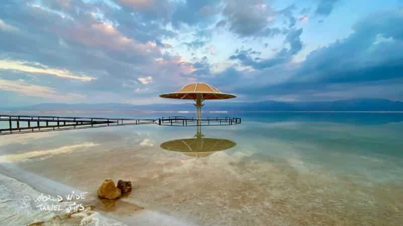 Ein Bokek Dead Sea Beach Israel