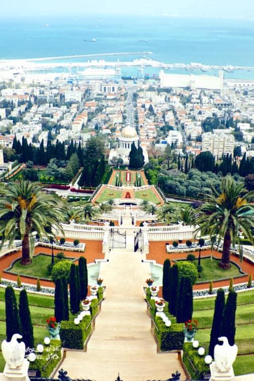 Haifa Israel Bahai Gardens