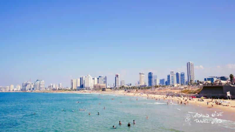 Beaches Tel Aviv Israel
