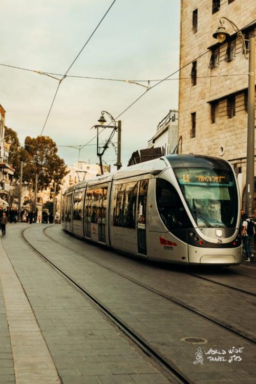 Israel Train to Tel Aviv