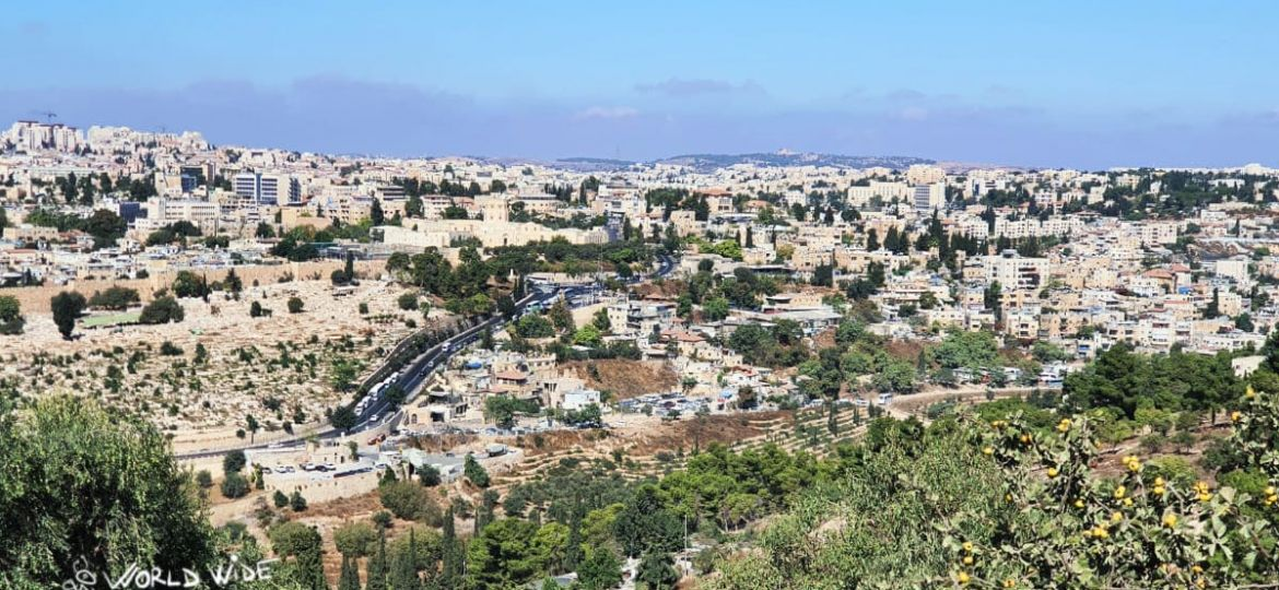 Jerusalem to Mount of Olives