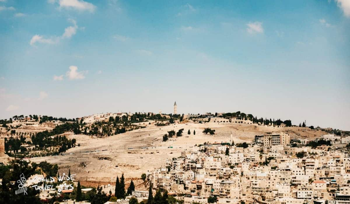 Cemetery on Mount of Olives