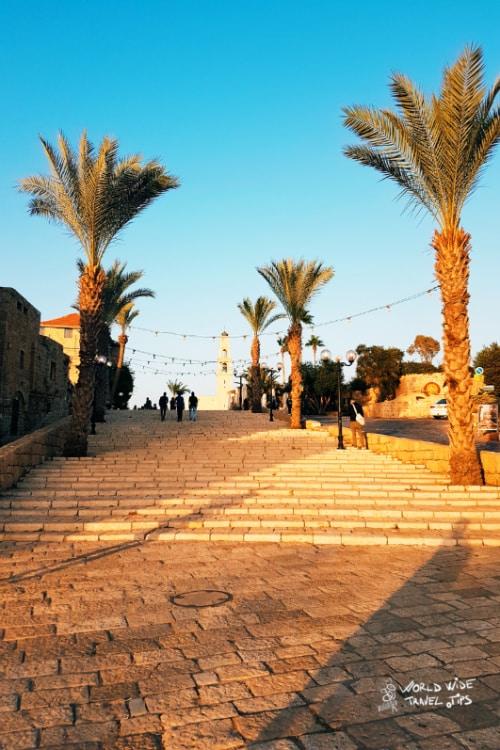 Old Jaffa in Tel Aviv of Israel
